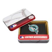 Florida Marlins Bifold Leather Wallet