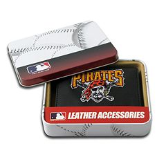 Pittsburgh Pirates Trifold Leather Wallet