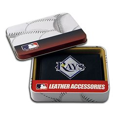 Tampa Bay Rays Trifold Leather Wallet