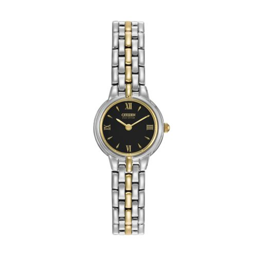 Citizen Watch - Women's Eco-Drive Silhouette Two Tone Stainless Steel - EW9334-52E