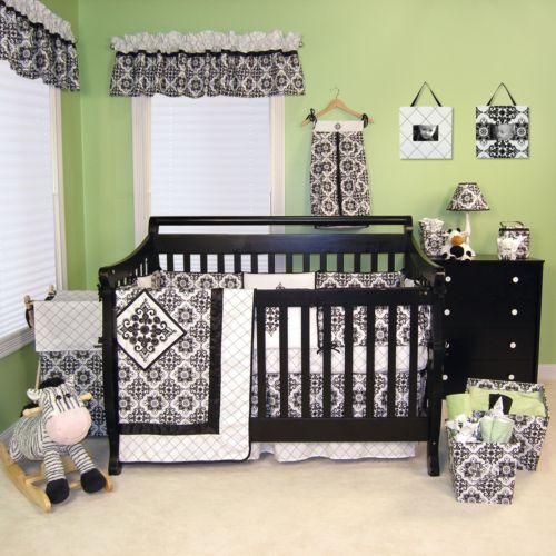 Trend Lab 4-pc. Versailles Crib Bedding Set