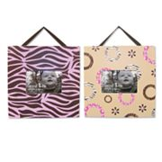 Trend Lab Sweet Safari Pink Photo Frame Set