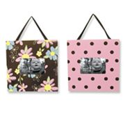 Trend Lab Blossoms Photo Frame Set