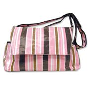 Trend Lab Striped Messenger Diaper Bag