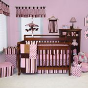 Trend Lab Maya 4-pc. Polka-Dot Striped Bedding Set