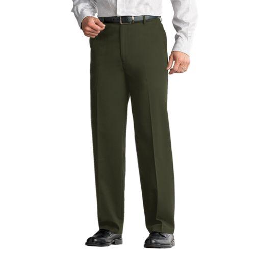 Croft & Barrow® No Iron Classic-Fit Flat-Front Pants - Men
