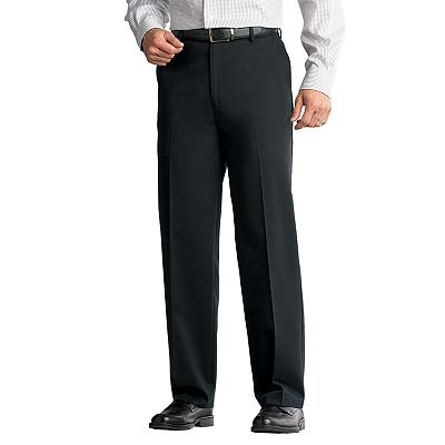 Croft and Barrow No-Iron Classic-Fit Flat-Front Pants