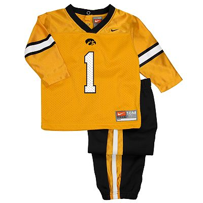 Nike Iowa Hawkeyes 1 Jersey and Pants Set
