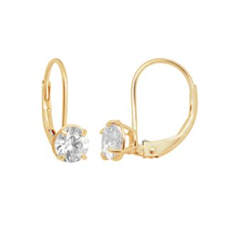 Renaissance Collection 10k Gold 1-ct. T.W. Drop Earrings - Made with Swarovski Zirconia