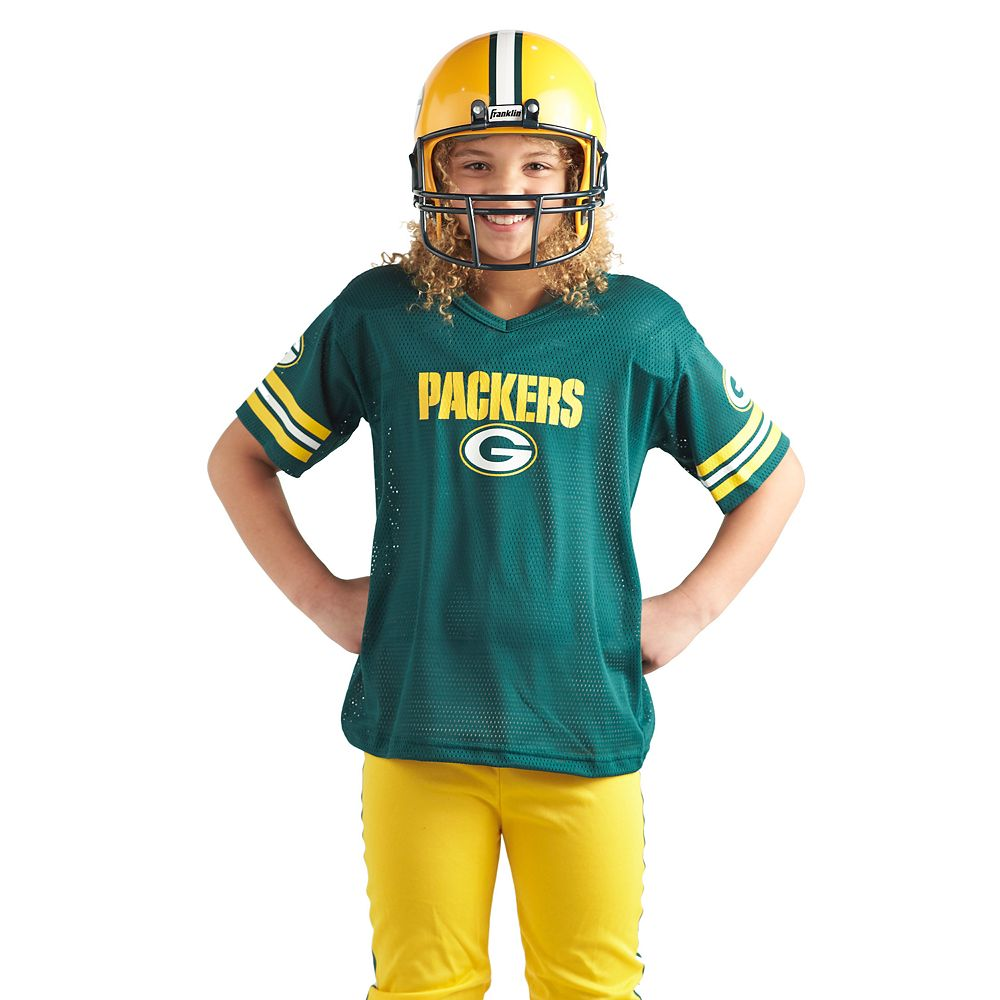 brand new 1dabc 7a174 Franklin Green Bay Packers Football Uniform