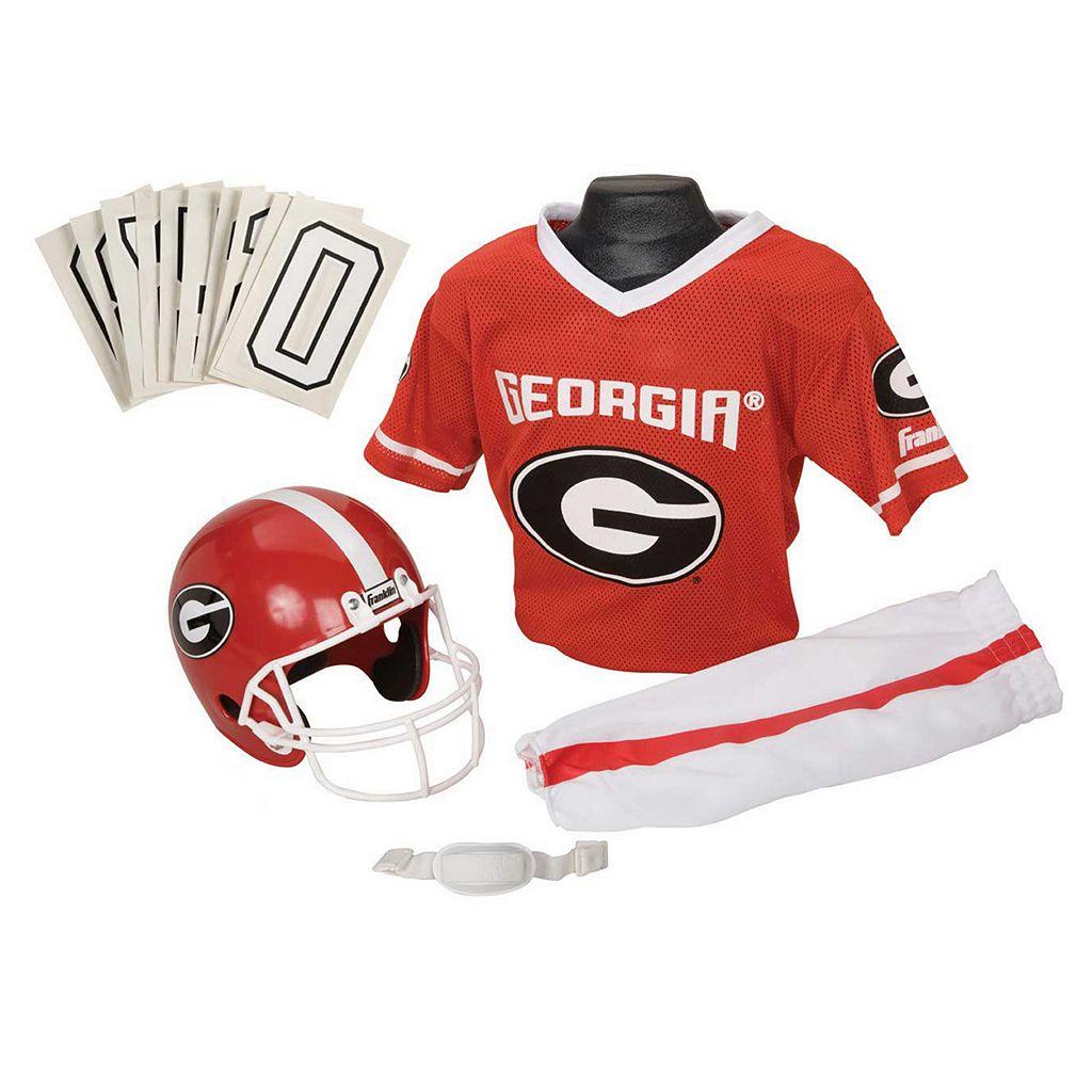 Franklin Georgia Bulldogs Football Uniform