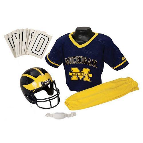 Franklin Michigan Wolverines Football Uniform