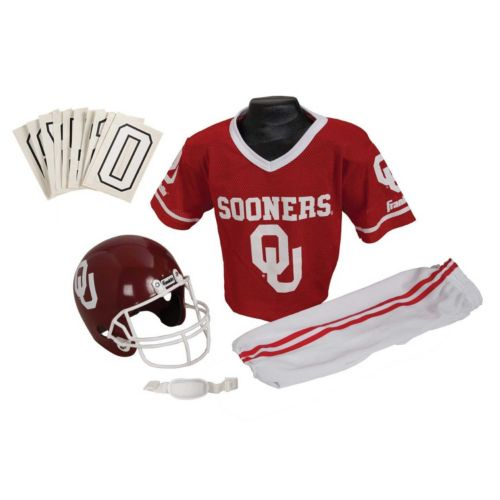 Franklin Oklahoma Sooners Football Uniform