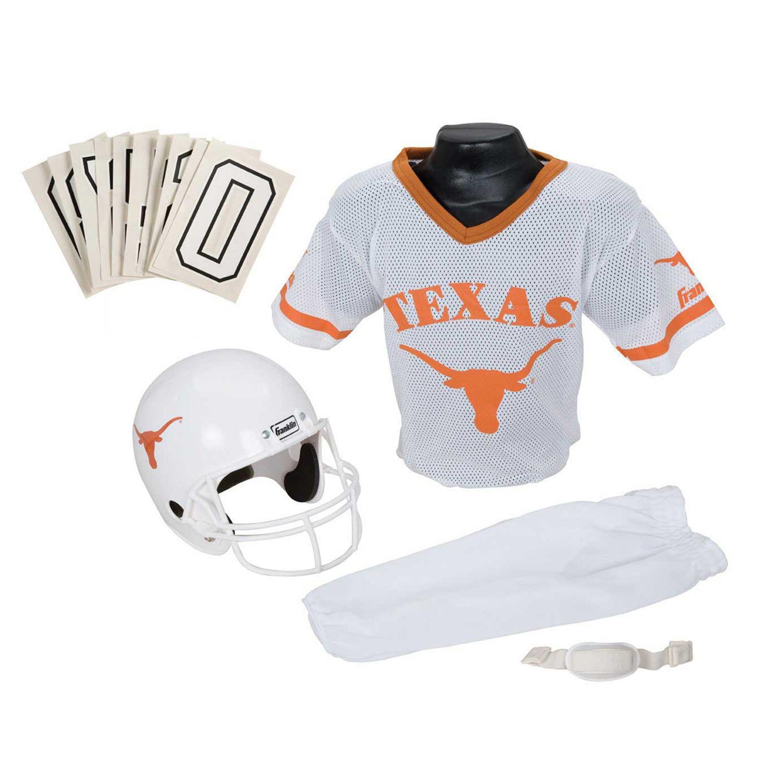 04f6e1553461fc TOP RATING Franklin Texas Longhorns 3-pc. Football Unifo - kaemdressza