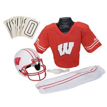 Franklin Wisconsin Badgers Football Uniform