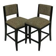 Carolina Accents 2-pc. Soho Counter Chair Set