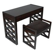 Carolina Accents Waverly Desk and Bench Set
