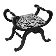 Carolina Accents Empire Zebra Bench