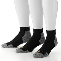 Men's GOLDTOE 3-pk. PowerSox Power-Lites Low-Cut Socks