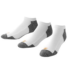 Men's GOLDTOE 3 pkPowerSox Power-Lites Low-Cut Socks