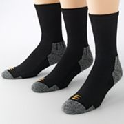 GOLDTOE® 3 pkPowerSox® Power-Lites® Crew Socks