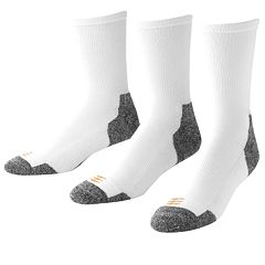 GOLDTOE® 3 pkPowerSox® Power-Lites® Crew Socks