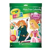 Crayola Color Wonder Sleeping Beauty Markers and Coloring Pad