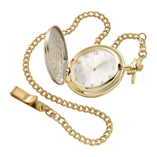 "Men's ""The Greatest Dad"" Two Tone Pocket Watch"