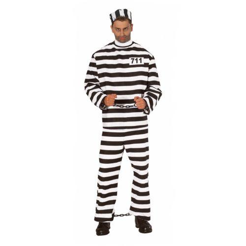 Convict Costume - Adult