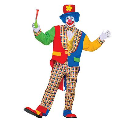 Clown Costume - Adult