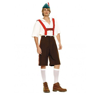 Lederhosen Costume - Adult