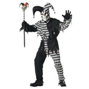 Evil Jester Costume - Adult