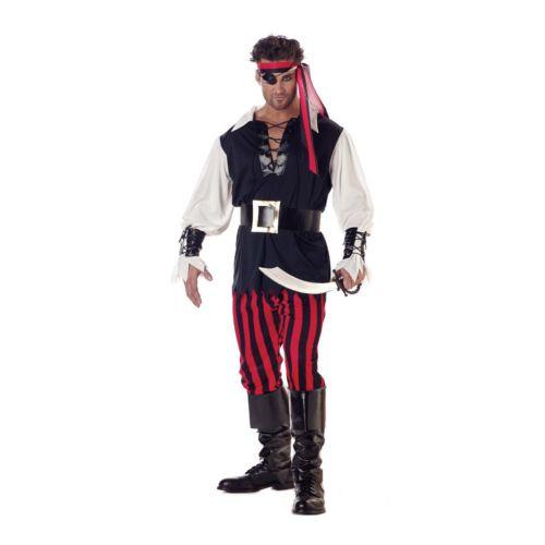 Cutthroat Pirate Costume - Adult/Adult Plus