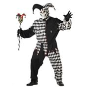 Evil Jester Costume - Adult Plus