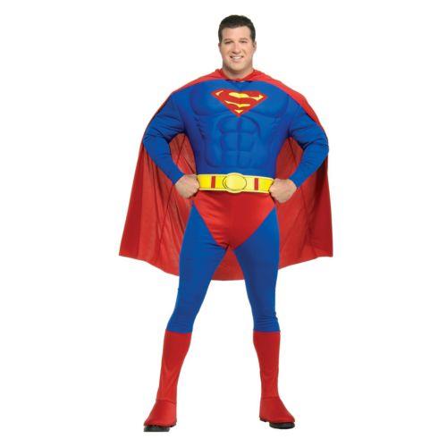 Superman Costume - Adult Plus