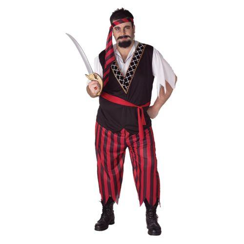 Pirate Costume - Adult Plus