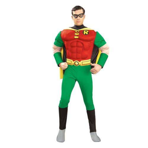 Robin Muscle Costume- Adult