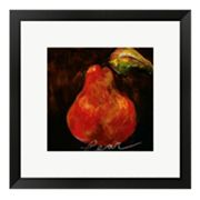 Red Pear Framed Wall Art
