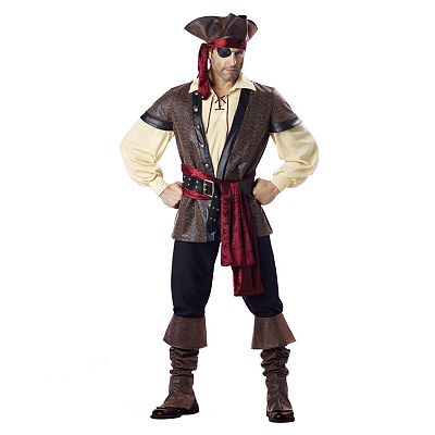 Rustic Pirate Elite Collection Costume