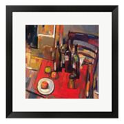 Vin Rouge Framed Wall Art