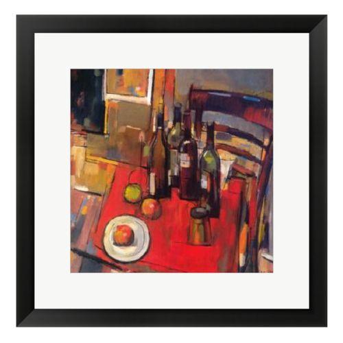Vin Rouge Framed Wall Art