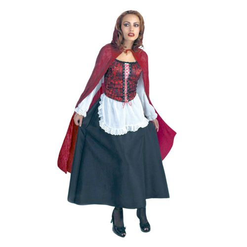 Red Riding Hood Deluxe Costume - Adult
