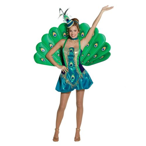 Peacock Costume - Adult