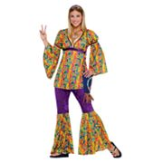Purple Haze Hippie Costume - Adult
