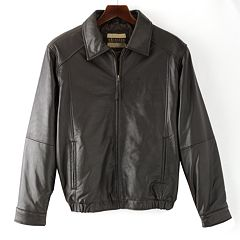Men's Excelled Leather Bomber Jacket