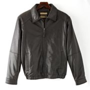 Excelled Leather Bomber Jacket - Tall
