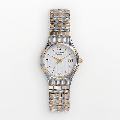 CARAVELLE by Bulova Stainless Steel Two-Tone Watch - Women