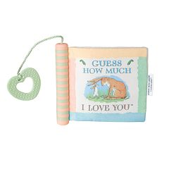 Kids Preferred 'Guess How Much I Love You' Soft Book with Teether