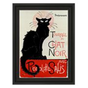 Tournee du Chat Noir Framed Wall Art