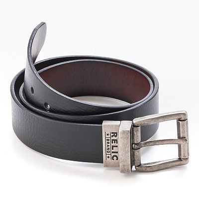 Relic Mitch Reversible Leather Belt